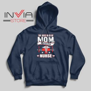 The Best Kind of MOM Hoodie Navy