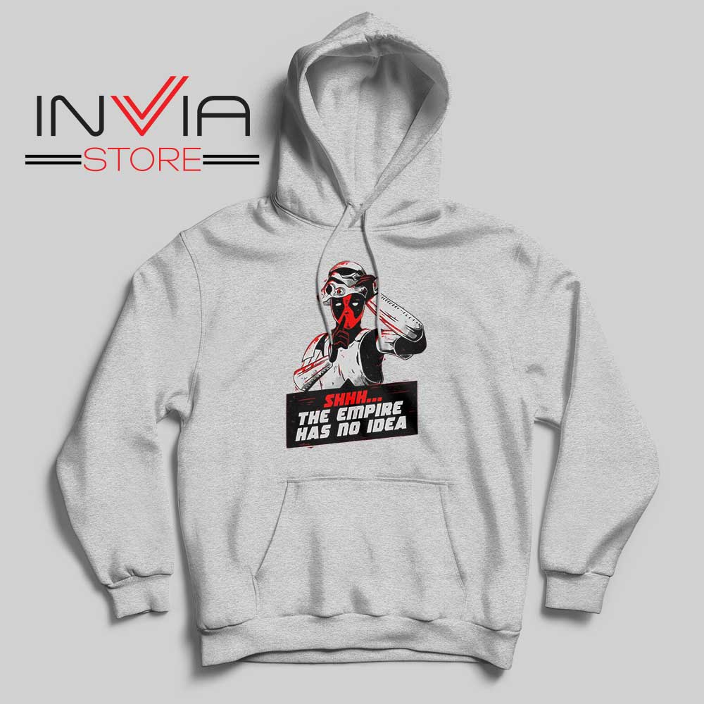 The Empire Has No Idea Hoodie Grey