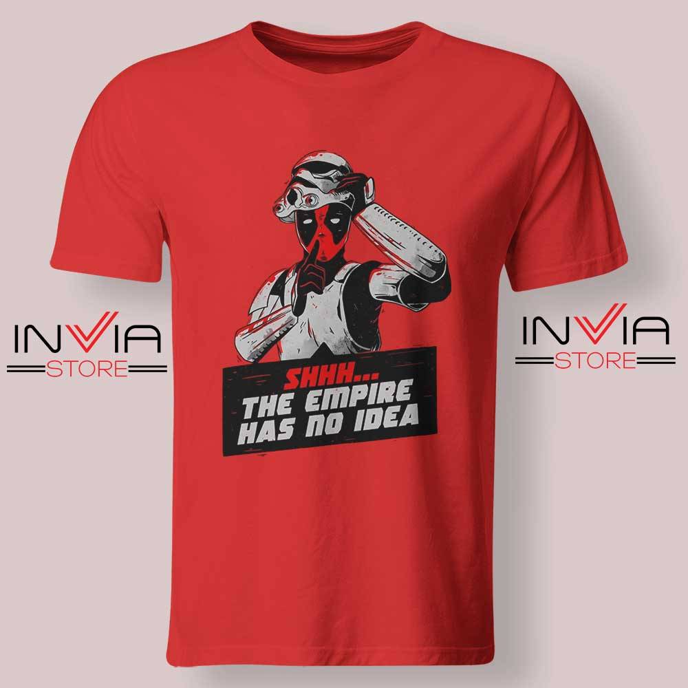 The Empire Has No Idea Tshirt Red