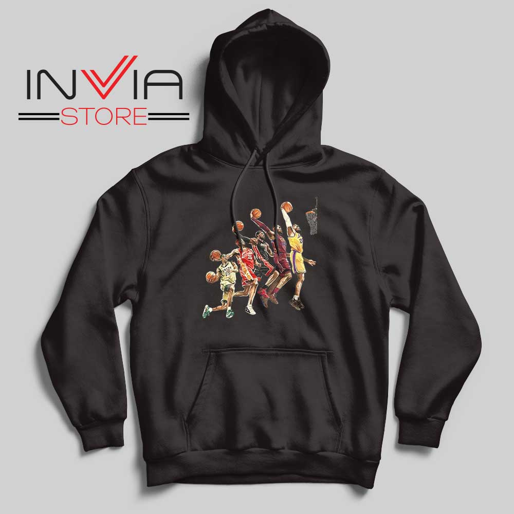 The Evolution of Lebron James Hoodie Black