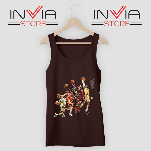 The Evolution of Lebron James Tank Top Grey Black