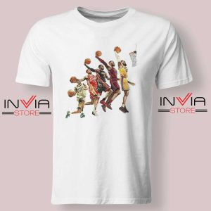 The Evolution of Lebron James Tshirt