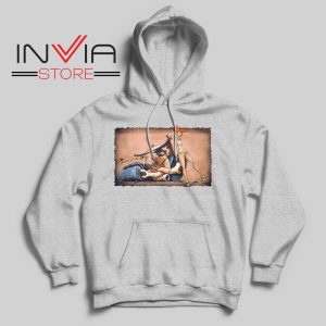 The Flintstones go Lowbrow Hoodie Grey