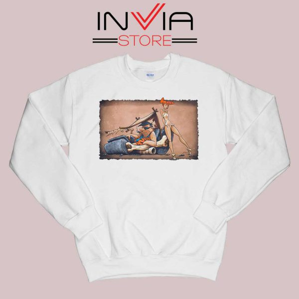 The Flintstones go Lowbrow Sweatshirt