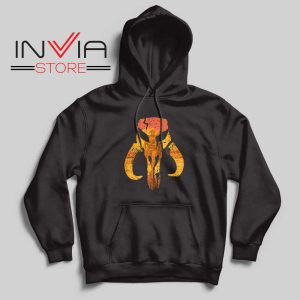 The Hunter Mandalorian Logo Hoodie