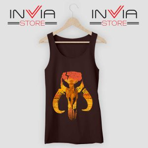 The Hunter Mandalorian Logo Tank Top