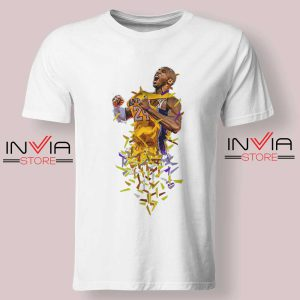 The Mamba Instinct Kobe Tshirt White