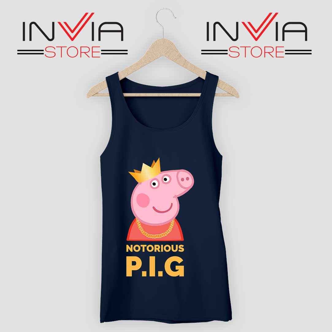 The Notorious Peppa Pig Tank Top Navy