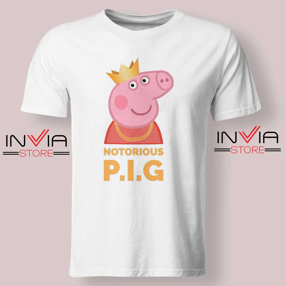The Notorious Peppa Pig Tshirt White