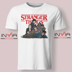 The Stranger Club Tshirt White