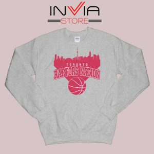 Toronto Raptors Nation Sweatshirt Grey