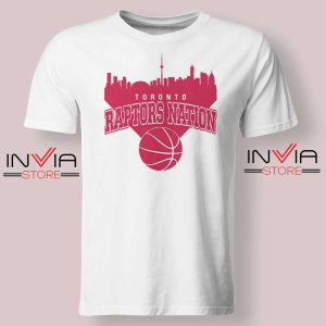 Toronto Raptors Nation Tshirt White