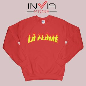 Travis La Flame Fire Sweatshirt