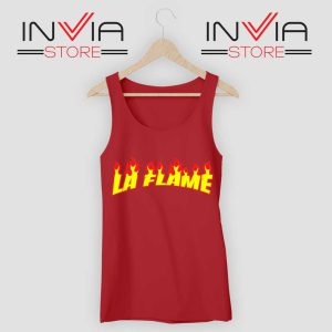 Travis La Flame Fire Tank Top