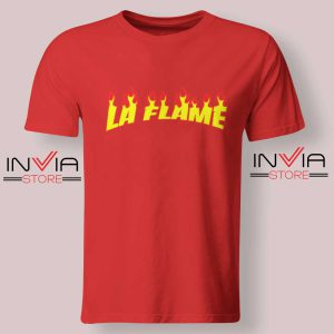 Travis La Flame Fire Tshirt