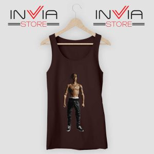 Travis Rodeo Rapper Tank Top