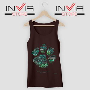 Typography Paw Ed Sheeran Tank Top