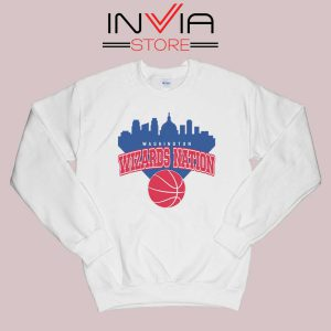 Washington Wizards Nation Sweatshirt White