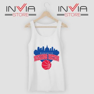 Washington Wizards Nation Tank Top White