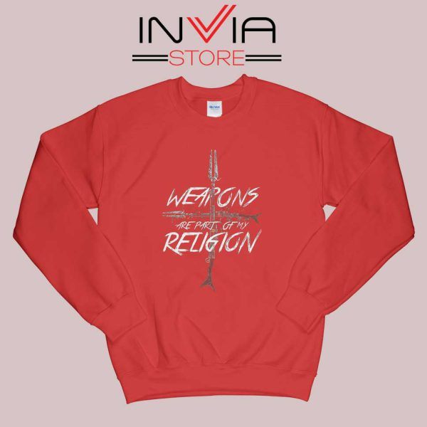 Weapons of my Religion Sweatshirt Red