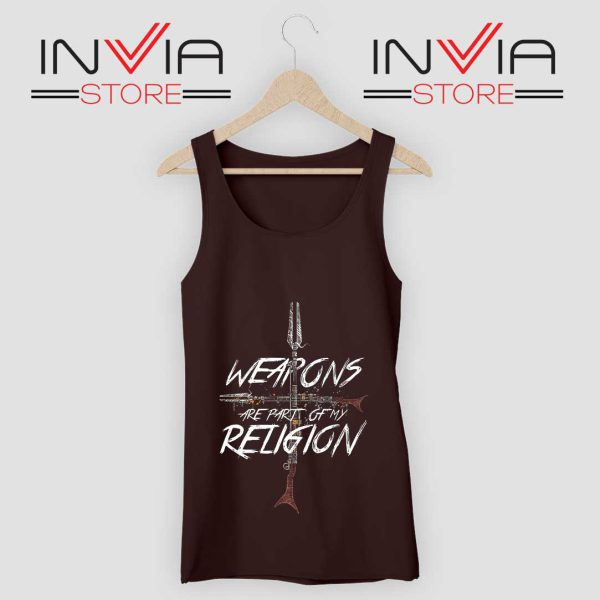 Weapons of my Religion Tank Top