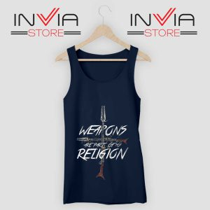 Weapons of my Religion Tank Top Navy