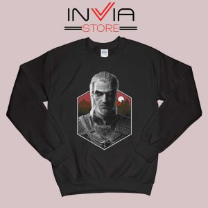 Witcher Bust Geralt Sweatshirt