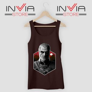 Witcher Bust Geralt Tank Top