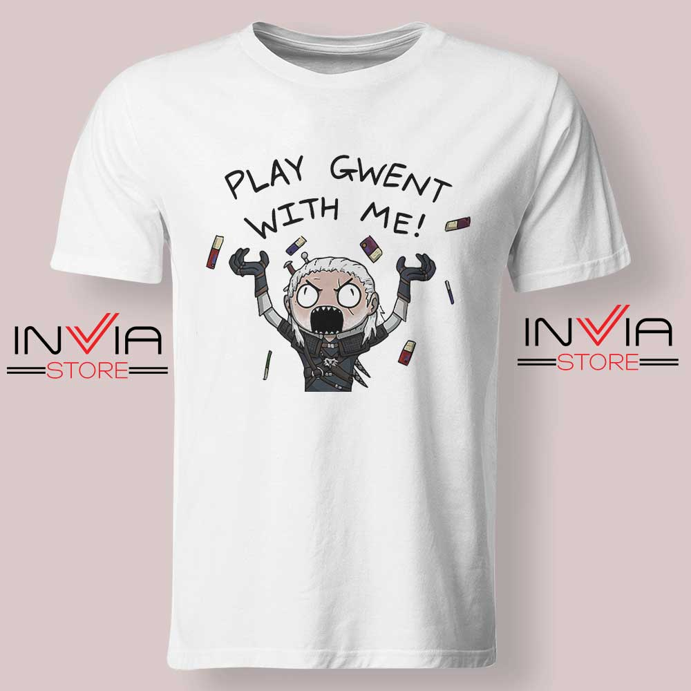 Witcher Play Gwent with Me Tshirt