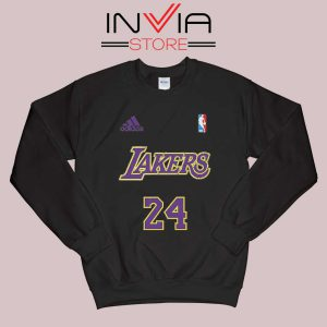 24 Lakers Adidas Jersey Tribute Sweatshirt