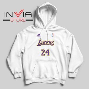 24 Lakers Adidas Jersey Tribute Hoodie