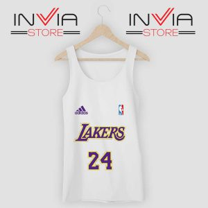 24 Lakers Adidas Jersey Tribute Tank Top