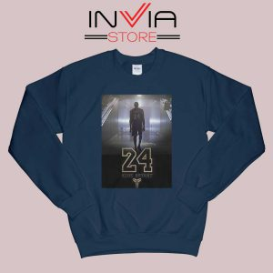24 Legend Kobe Bryant Gold Sweatshirt Navy