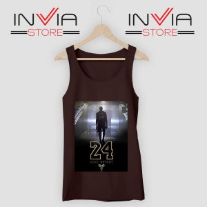 24 Legend Kobe Bryant Gold Tank Top Black