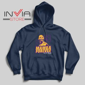 8 and 24 Mamba Forever Hoodie Navy