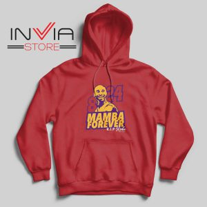 8 and 24 Mamba Forever Hoodie Red