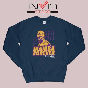 8 and 24 Mamba Forever Sweatshirt Navy