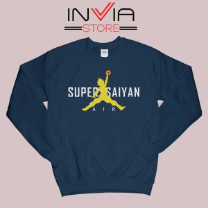 Air Jordan Super Saiyan Navy Sweatshirt