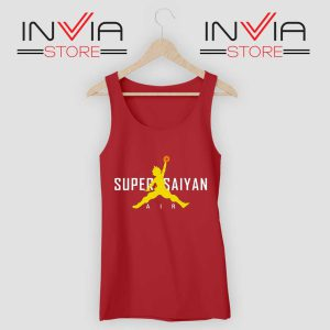 Air Jordan Super SaiyanRed Tank Top