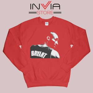 Back Kobe Bryant RIP Red Sweatshirt
