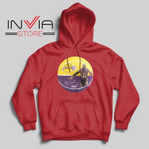 Basket Ball LA Lakers Kobe Hoodie Red