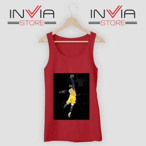 Best Kobe Jump and Dunk Tank Top Red