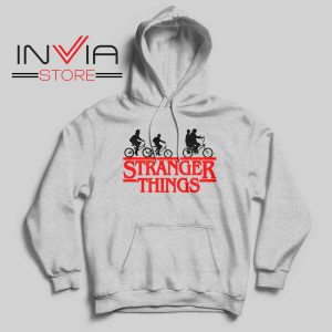 Bicycle Stranger Things Grey Hoodie