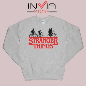 Bicycle Stranger Things Grey Sweatshirt