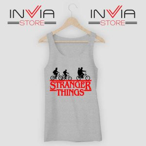 Bicycle Stranger Things Grey Tank Top