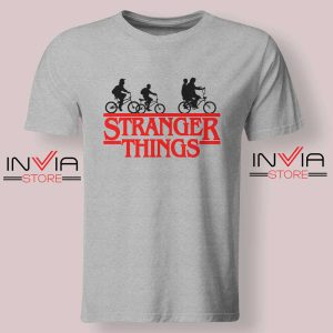 Bicycle Stranger Things Grey Tshirt