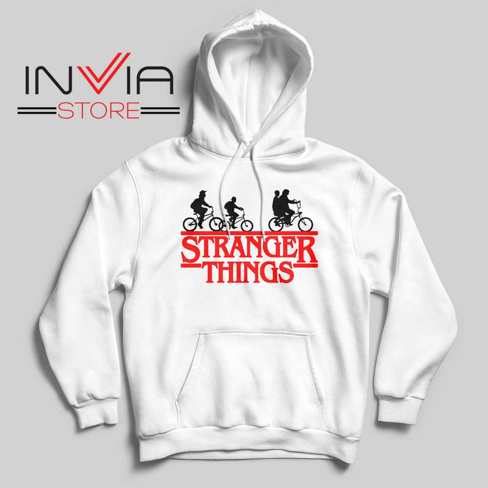 Bicycle Stranger Things Hoodie