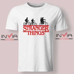 Bicycle Stranger Things Tshirt