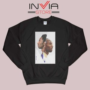Black Mamba Kobe Face Black Sweatshirt