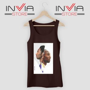 Black Mamba Kobe Face Black Tank Top